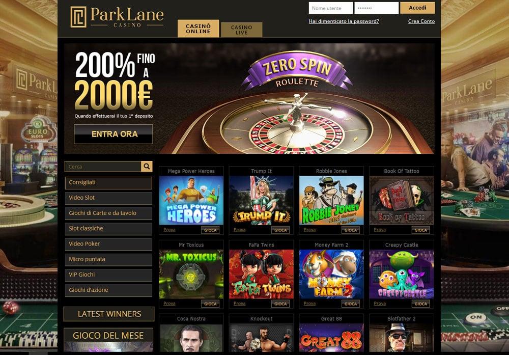Parklane Casino Online