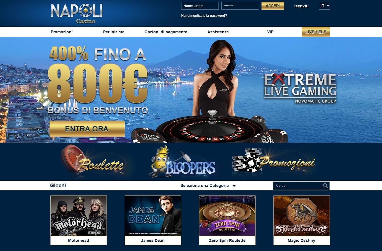 casino napoli italia
