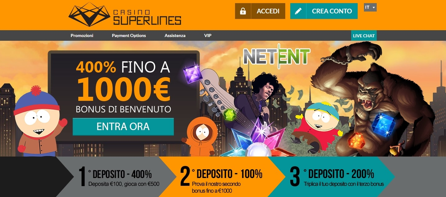casinò online europei superlines