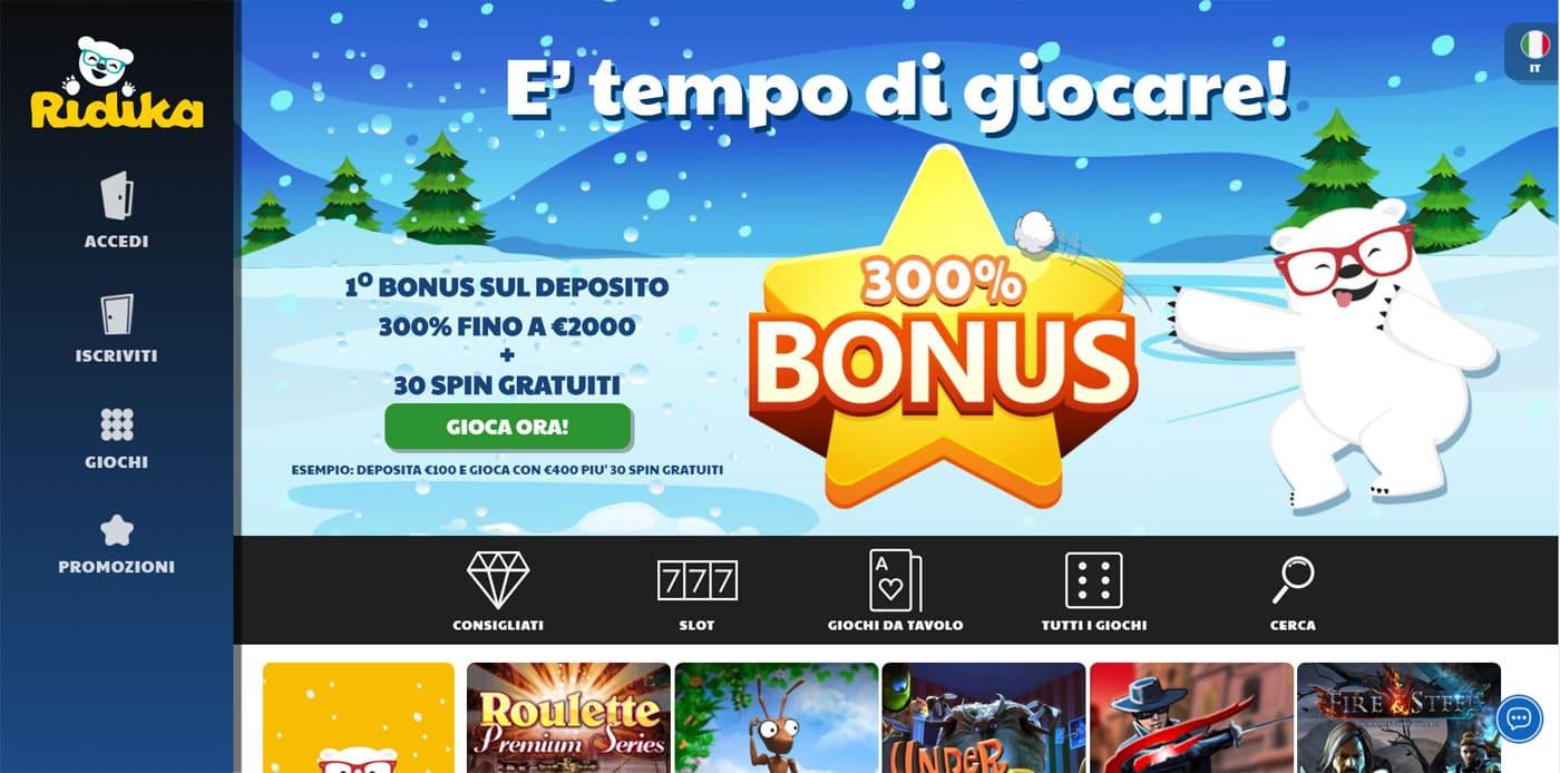 Ridika Online Casino