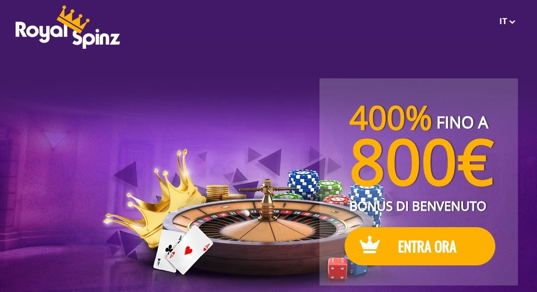 casinò online europei royal spinz