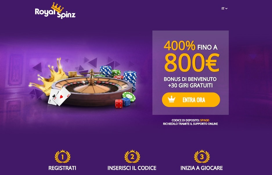 casinò online royal spinz giri gratis