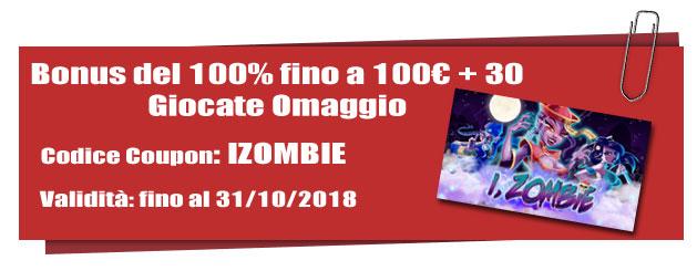 bonus casinò slot i zombie