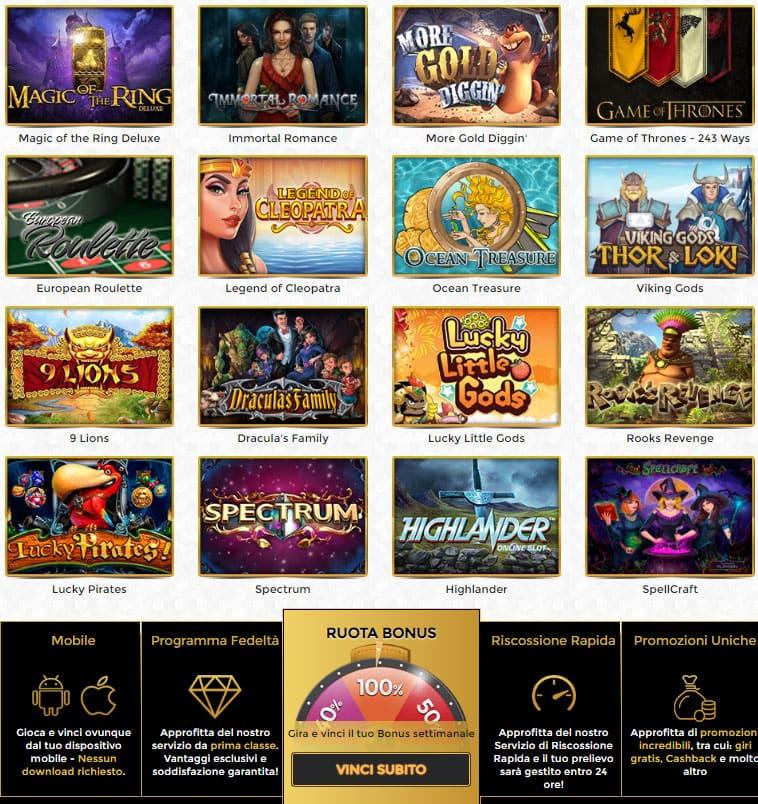 giochi casino online stranieri