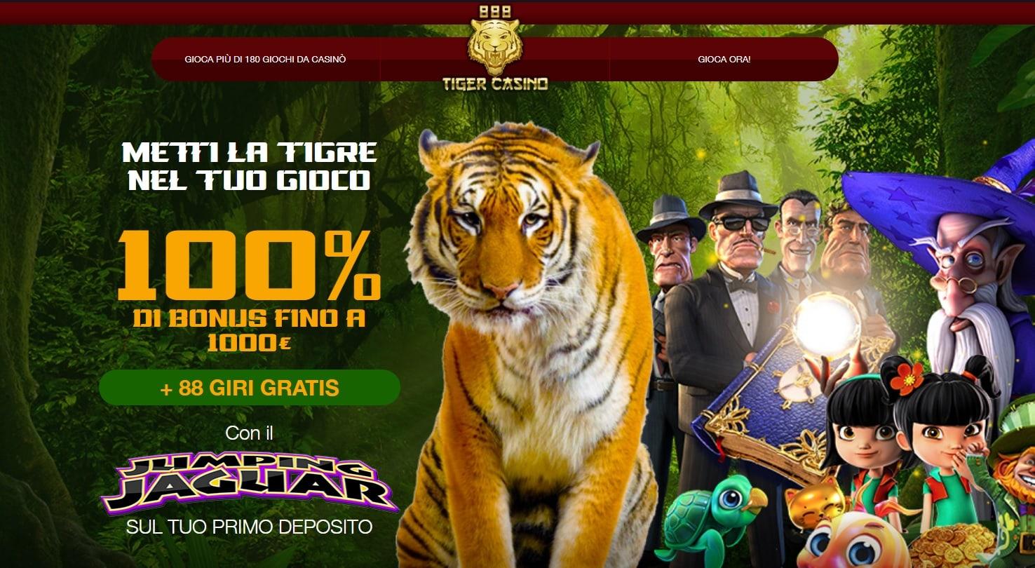 casinò online europei 888 tiger