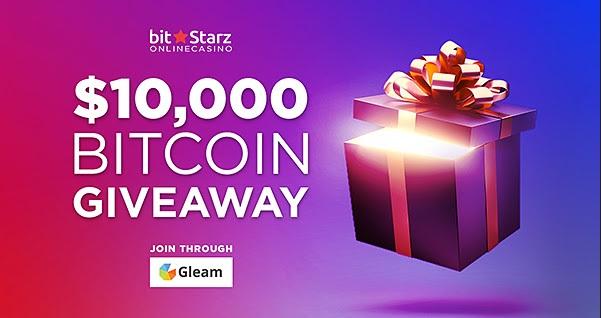 bitcoin giveaway bitstarz