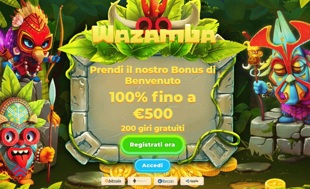 casinò online wazamba