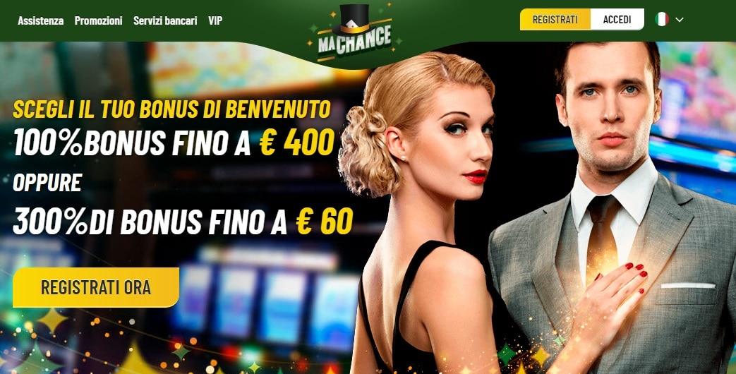 machance casino online recensione