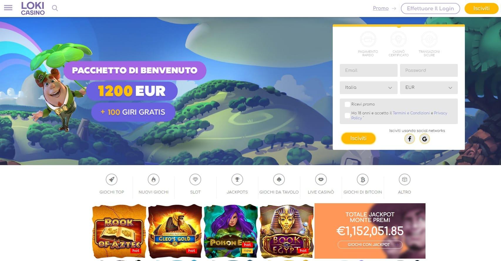 casinò online europei loki casino