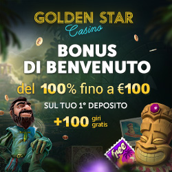 casinò golden star bonus benvenuto