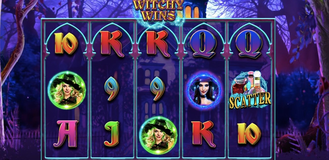 slot online rtg witchy wins