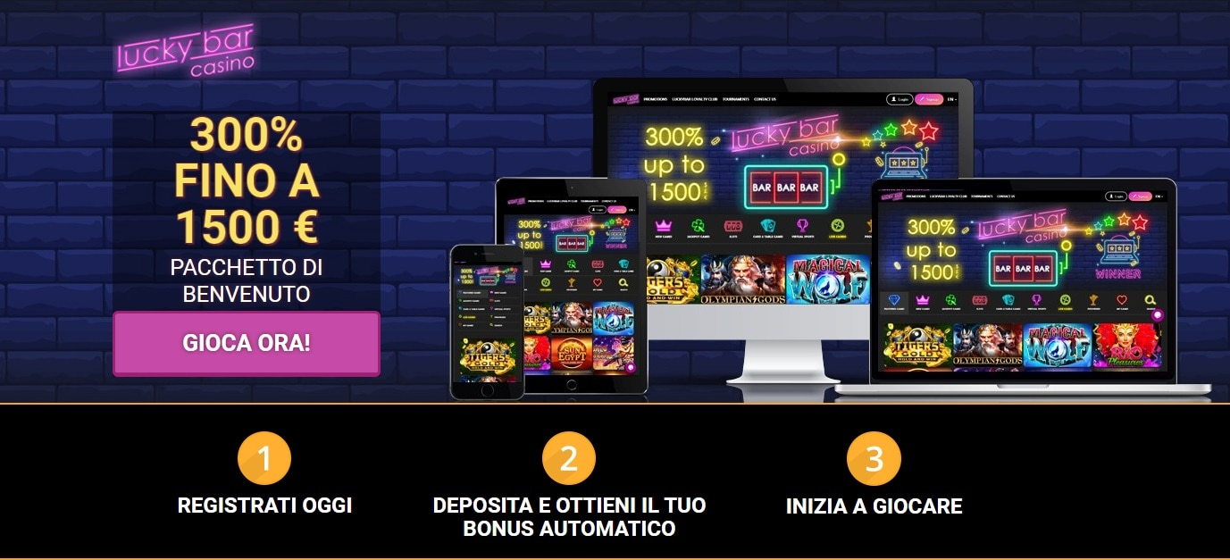 casinò online recensioni luckybar