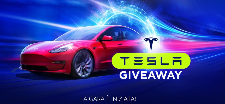 Vinci una Tesla Model 3 su BitStarz Casino!