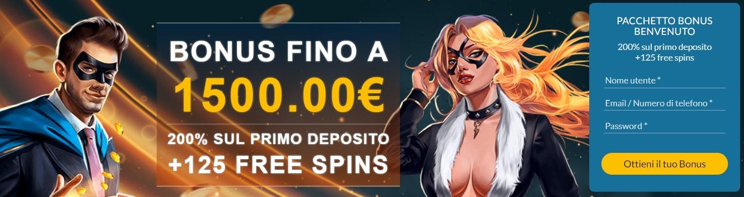 bonus power casino