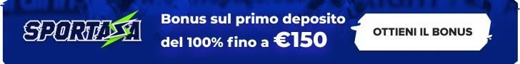 sportaza bookmaker bonus scommesse